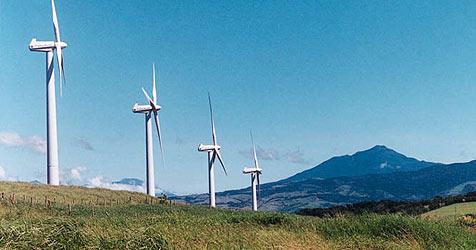 """Große Mehrheit sagt """"Ja"""" zum geplanten Windpark (Bild: Krone)"""
