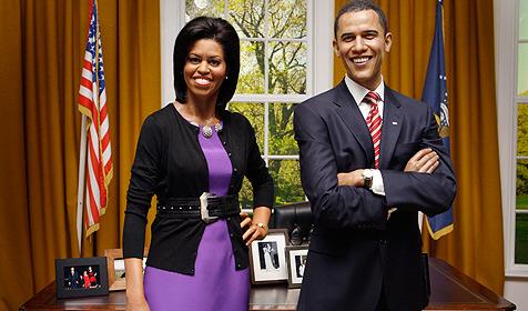 Michelle Obama bei Madame Tussauds aufgestellt