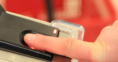 D: Zahlen per Fingerabdruck kommt gut an (Bild: Dermalog Identification Systems)