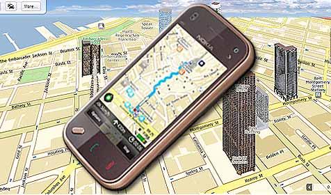 Nokia bietet Navigationsservice kostenlos an (Bild: Nokia)