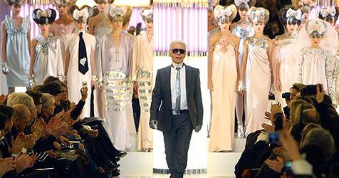 "Chanels Barock-Disco und Armanis ""Moonwalk"" in Paris"