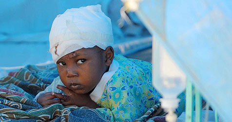 """""""Krone""""-Leser zahlt Hilfszentrum für Haiti-Opfer"""