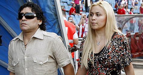 Diego Maradonas Lebenspartnerin erlitt Fehlgeburt