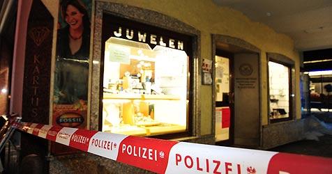 Juwelier-Räuber nach wilder Jagd schwer verletzt (Bild: Foto Kerschi)