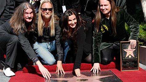 """Stern für Roy Orbison auf dem """"Walk of Fame"""""""