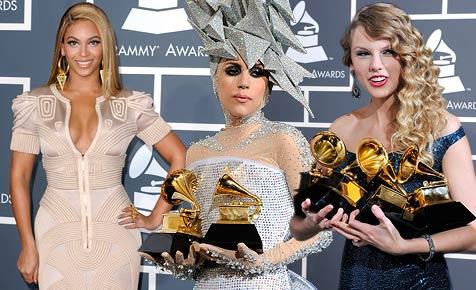 Beyonce räumt ab, Taylor Swift mit bestem Album