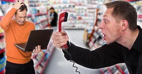 Echt zum Lachen: Die schr�gsten Kundenanfragen (Bild: � 2010 Photos.com, a division of Getty Images, AP)
