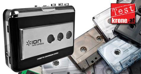 """Digitalisieren leicht gemacht mit dem """"Tape Express"""" (Bild: © 2010 Photos.com, a division of Getty Images)"""
