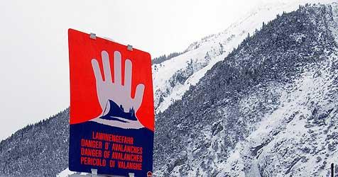 Lawinengefahr in Salzburg bleibt weiter erheblich (Bild: APA/Robert Parriger)
