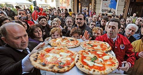 Pizza Napoletana als EU-Spezialität geschützt