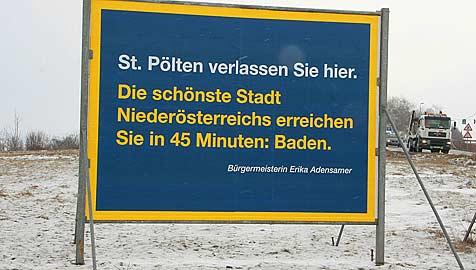 """Badener """"Schönste Stadt""""-Kampagne weiter in der Kritik (Bild: Franz Crepaz)"""