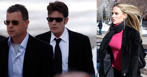 Ehefrau mit Messer bedroht - Charlie Sheen vor Gericht