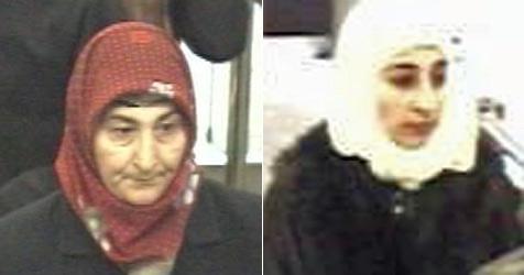 Kopftuch-Bande stiehlt Geldbörsen aus den Taschen (Bild: SID NÖ)