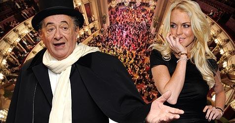 Lugner bekommt Geld von Lindsay Lohan zurück (Bild: APA/ROBERT JAEGER, APA/GEORG HOCHMUTH, EPA)