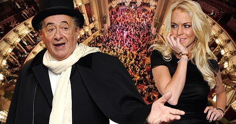 Richard Lugner will Lindsay Lohan nun endgültig verklagen (Bild: APA/ROBERT JAEGER, APA/GEORG HOCHMUTH, EPA)