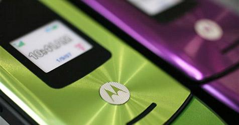 Motorola verkauft weniger Handys, mehr Smartphones