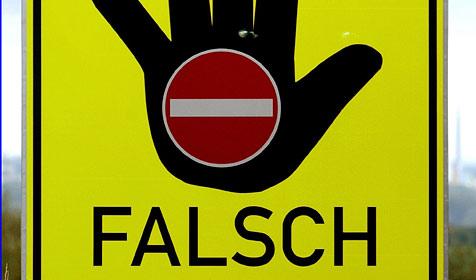 Salzburg-Nord: Streit um Warnung vor Geisterfahrern (Bild: dpa/dpaweb/dpa/Frank May)