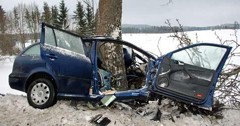 22-Jähriger stirbt bei Verkehrsunfall im Waldviertel (Bild: Max Mörzinger/BFKDO Gmünd)