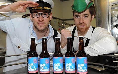 Stärkstes Bier der Welt hat 41 Prozent Alkoholgehalt (Bild: BrewDog)