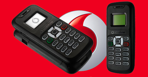 Vodafone stellt billigstes Handy der Welt vor (Bild: Vodafone)