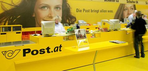Postamt in Morzg in Inserat zum Verkauf angeboten (Bild: Christian Houdek für Österreichische Post AG)