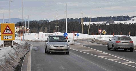 In Altenfelden und St. Martin: Rätsel um Kreisverkehre (Bild: Horst Einöder)