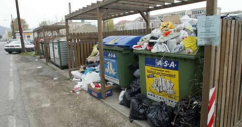 235.000 Tonnen Abfall in Müllzentren gebracht (Bild: Jürgen Radspieler)