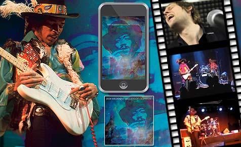 """Die Sieger beim Jimi-Hendrix-Contest der """"Krone"""""""