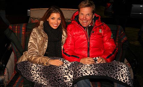 Bohlen hat das Skifieber gepackt - und die Romantik (Bild: Hotel Madlein)