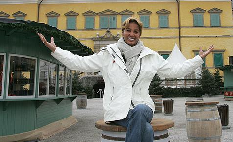 Dünne Naddel ließ sich in Salzburg Fett absaugen (Bild: APA/FRANZ NEUMAYR)