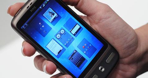 Fettfilm auf Touchscreens gibt Passwörter preis (Bild: EPA)