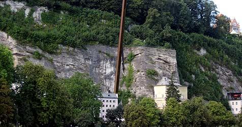 Enorme Kosten und Evakuierung wegen Salzburger Nagel (Bild: Repro Krone)