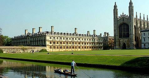 Cambridge-Universität wird zur Frühstückspension (Bild: EPA)