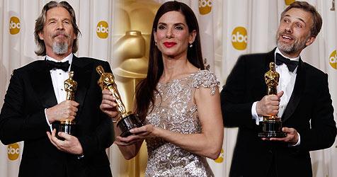 Bridges, Bullock und Waltz triumphieren bei den Oscars