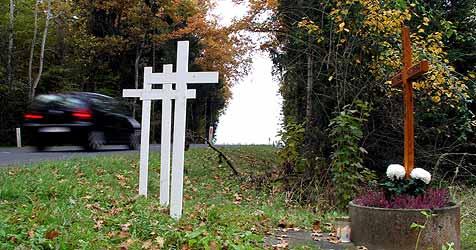 Braunauer Bundesstraße - 75 Unfälle in 3 Jahren (Bild: Sepp Pail)