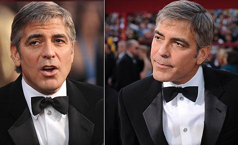War Clooney bei der Oscar-Verleihung sturzbetrunken? (Bild: AFP)
