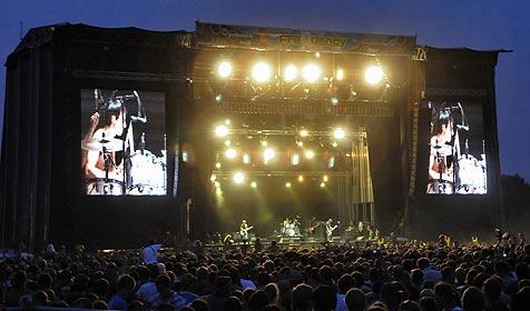 Muse, Jan Delay und Bad Religion live am Frquency (Bild: APA/Andreas Pessenlehner)