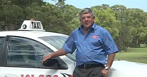 Australischer Taxler geht auf 6.500 km lange Fahrt (Bild: Extraordinarytaxiride.com.au)