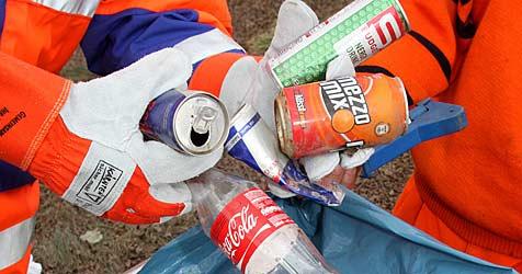 Freiwillige sammeln 6,3 Tonnen Müll in St. Pölten (Bild: Uta Rojsek-Wiedergut)