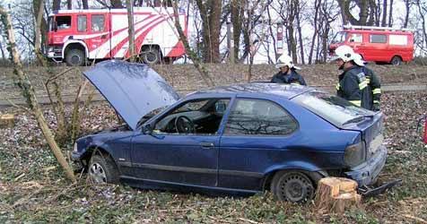 29-Jährige bei Unfall in Orth an der Donau verletzt (Bild: FF Orth/Donau)