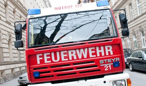 Grablicht löst Glimmbrand in Wohnhaus aus (Bild: Andreas Graf)