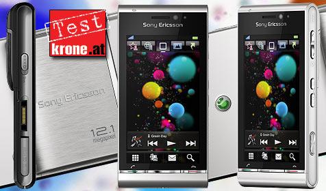 Top-ausgestattetes Multimedia-Handy von Sony Ericsson