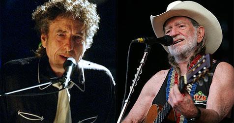 Bob Dylan und Willie Nelson kommen nach Österreich
