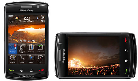 """T-Mobile bringt BlackBerry """"Storm 2""""  nach Österreich (Bild: RIM)"""