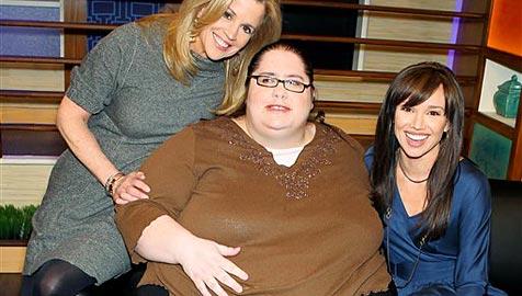 US-Amerikanerin will fetteste Frau der Welt werden