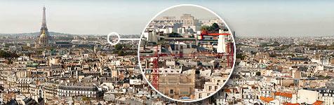Weltgrößtes Foto zeigt Paris mit 26 Gigapixeln (Bild: paris-26-gigapixels.com)