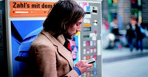 Bezahlen mit dem Handy immer beliebter (Bild: Paybox)
