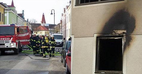 Zwei Kinder bei Brand im Bezirk St. Pölten gerettet (Bild: FF St. Georgen)