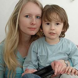"""Evangelos"""" Vater will Kind und Frau mitnehmen (Bild: Haginger)"""