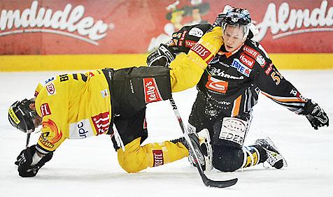 12 Spiele Sperre für Black-Wings-Verteidiger Lukas (Bild: APA/HERBERT NEUBAUER)